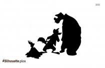 Disney Characters Silhouette Art