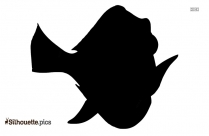 Cod Fish Silhouette Free Vector Art