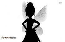 Babies Dress Up Silhouette Drawing