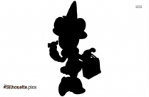 Funny Halloween Silhouette