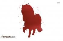 Disney Horse Silhouette Clip Art