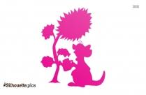 Disney Kanga And Roo Silhouette Free Vector Art