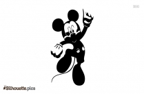 Cute Mickey Mouse Silhouette
