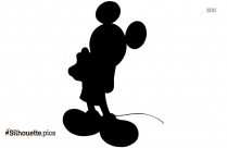 Mickey Mouse Basketball Silhouette Image And Vector