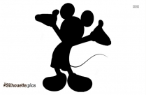 Free Mickey Mouse Knight Silhouette