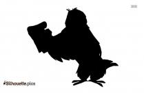 Disney Owl Logo Silhouette For Download