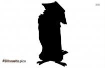 Disney Owl Silhouette Drawing