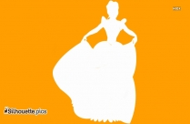Cinderella Silhouette Image And Vector