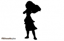 Happy Mickey Mouse Vector Silhouette