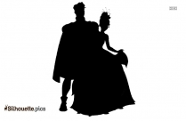 Daisy Duck And Puppy Silhouette Image