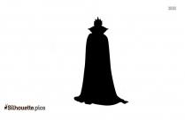 Disney Queen Vector Silhouette