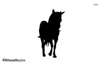 Disney Unicorn Silhouette Black And White