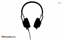 Baby Headphone Silhouette Art