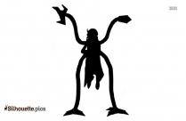 Doctor Octopus Silhouette Free Vector Art