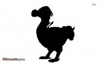 Guinea Fowl Bird Clip Art Silhouette Image