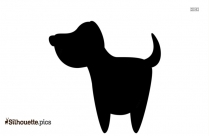 Flying Cow Cartoon Silhouette