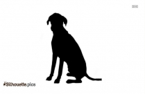 Dog Clipart Silhouette Drawing