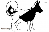 Dog Drawing Silhouette Vector Graphics