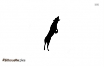 Jumping Dog Silhouette