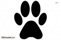 Animals Paw Tattoo Designs Silhouette Clip Art