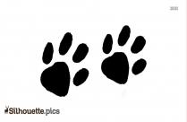 Dog Paw Silver Bracelet