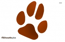 Cat Paw Clip Art Free Image Silhouette