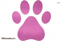 Animal Paws Silhouette Clip Art