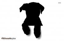 Baby Bulldog Silhouette Art