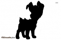 Cartoon Dog Leg Injury Silhouette Vector And Graphics