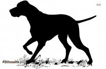 White-tailed Deer Illustration Silhouette