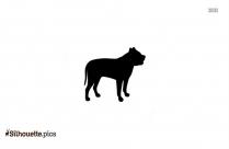 Anatolian Shepherd Dog Vector Silhouette