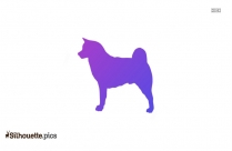 Greyhound Dog Breed Silhouette