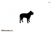 Dog Running Clip Art, Silhouette