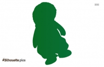 Cute Baby Doll Silhouette