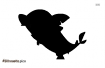 Fish Clipart Silhouette Free Vector Art