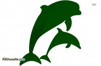 Dolphin Fish Silhouette Free Vector Art