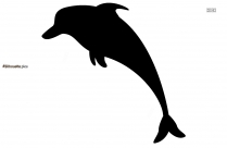 Dolphin Cartoon Silhouette Image And Vector