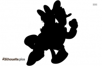 Donald Duck And Daisy Duck Silhouette