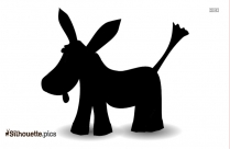 Donkey Clip Art Silhouette Free