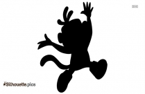 Halloween Dora Coloring Page Silhouette