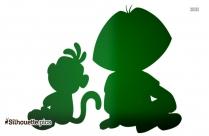 Nobita Graphic Vector Silhouette