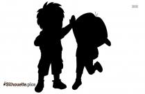 Dora Cartoon Silhouette Art