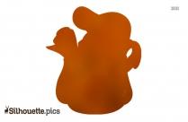 Tweety Bird Cartoon Silhouette
