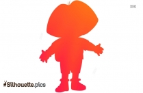 Cartoon Character Silhouette