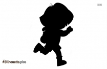 Dora And Buji Clipart Silhouette