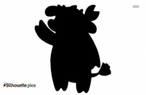 Kung Fu Panda Mei Mei Silhouette Illustration