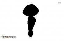 Dora The Ballerina Silhouette Free Vector Art