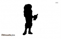 Teen Dora Silhouette Vector And Graphics