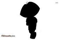 Dora The Explorer Silhouette Clipart Image