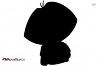 Dora Jumping Silhouette Image